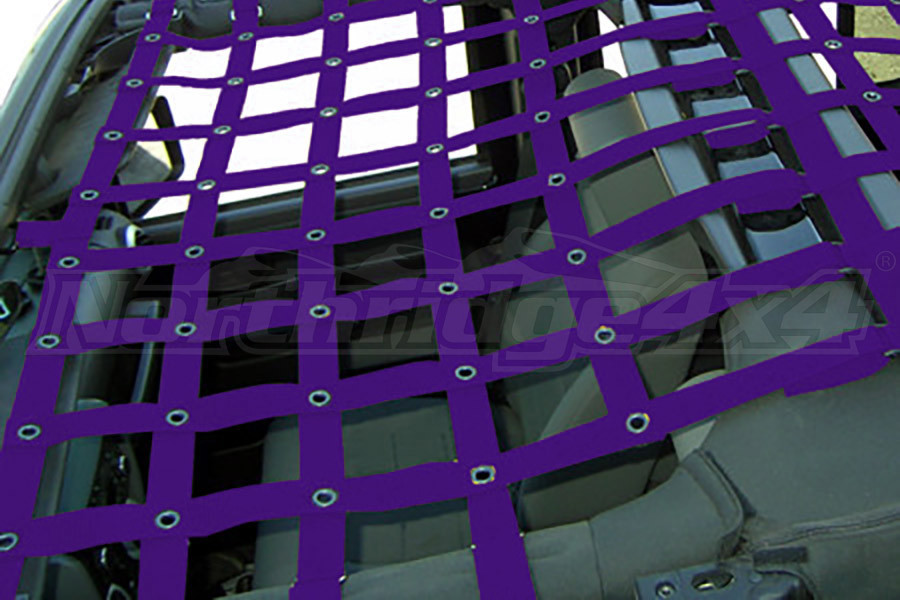 Dirty Dog 4x4 Front Netting Purple (Part Number:J4NN07F1PR)