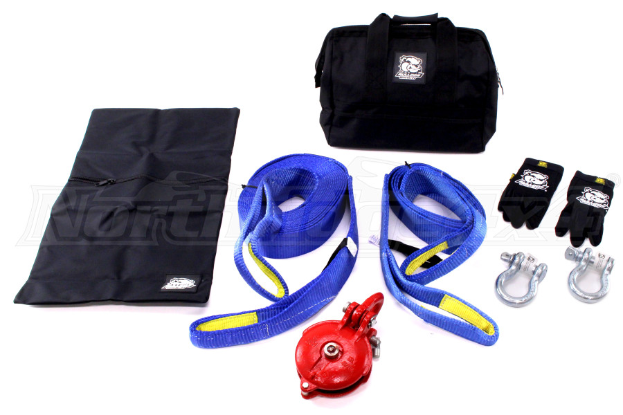 Bulldog Winch 8pc Truck Rigging Kit (Part Number:20074)