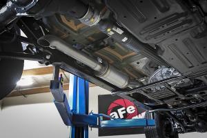 AFE Power ROCK BASHER 3in Cat-Back Exhaust System - JL 4dr 3.6L
