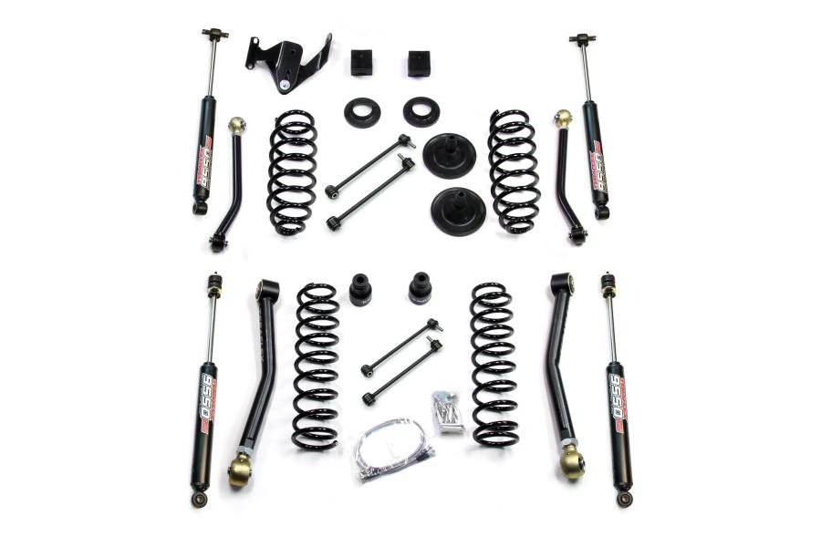 Teraflex 3in Lift Kit W/4 Flexarms & 9550 Shocks (Part Number:1256200)