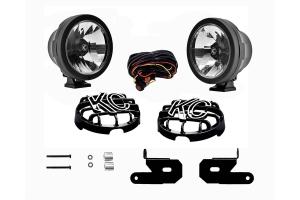 KC HiLites A-Pillar/Windshield Light Mount Kit w/Pro-Sport LED Lights (Part Number: )