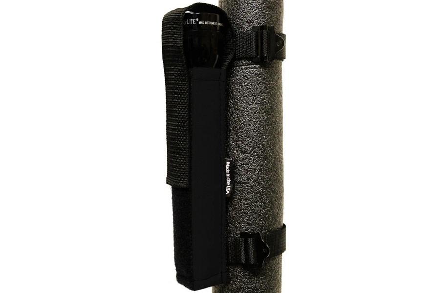 Bartact Extreme Roll Bar Multi-D-Cell Flashlight Holder - Black