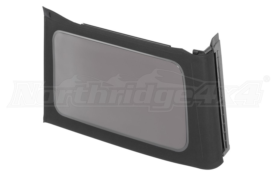 Mopar Tinted Soft Top Window, Driver Side - Black Twill - JL 4Dr