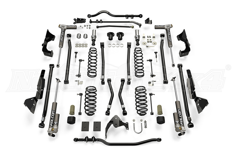 Teraflex Alpine CT6 Suspension System 6in Lift kit w/ 3.2 Falcon Shocks (Part Number:1226032)