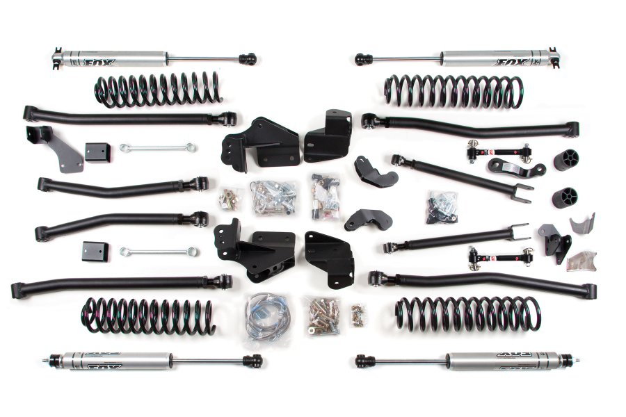 BDS Suspension 4in Long Arm Lift Kit - JK 2dr
