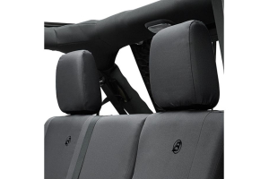Bestop Rear Seat Cover Black   (Part Number: )