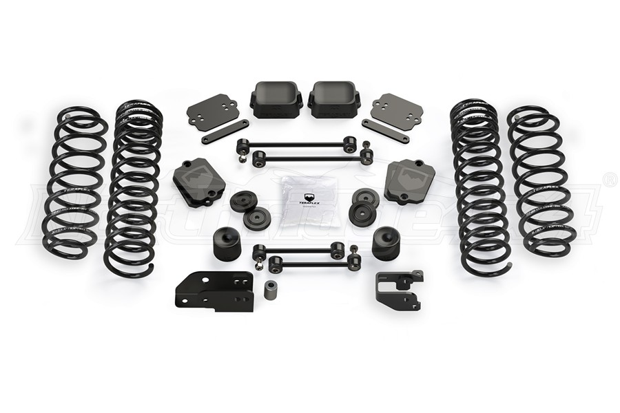 Teraflex 3.5in Coil Spring Base Lift Kit - No Shocks - JL 2Dr