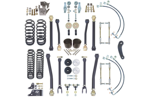 Currie Enterprises 4in Suspension w/Adjustable Front and Rear Sway Bar Links (Part Number: )