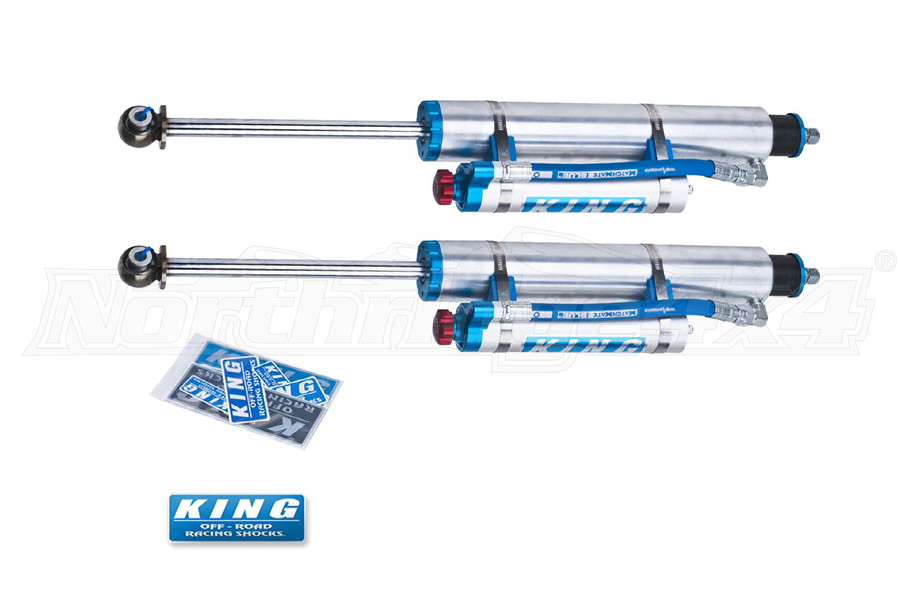 King Shocks 2.5 OEM Performance Series Front Shocks w/Adjuster 3-5in Lift (Part Number:25001-223A)