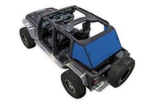 SpiderWebShade 1-Piece Cargo Shade Cover - Blue - JK 4Dr