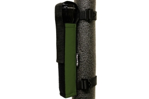 Bartact Extreme Roll Bar Multi-D-Cell Flashlight Holder - Olive Drab