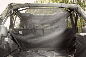 Rugged Ridge C2 Cargo Curtain, Rear (Part Number: )