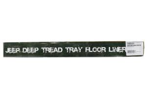 Rugged Ridge Floor Liner Front Black - JK