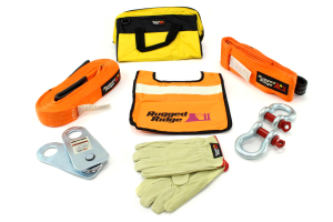 Rugged Ridge HXD 20,000lbs Recovery Gear Kit