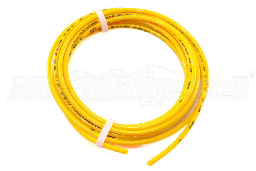 Wild Boar TIRE CONNECTION WHIP KIT 1/4IN X 20FT Yellow (Part Number:2WWP14YEL-46872)