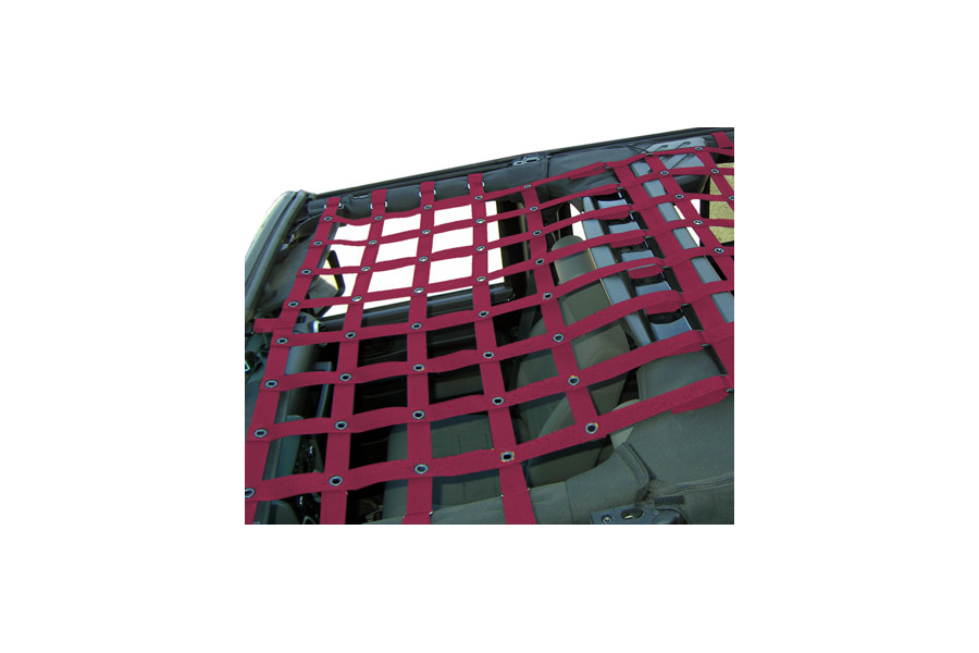 Dirty Dog 4x4 Front Netting Maroon - JK