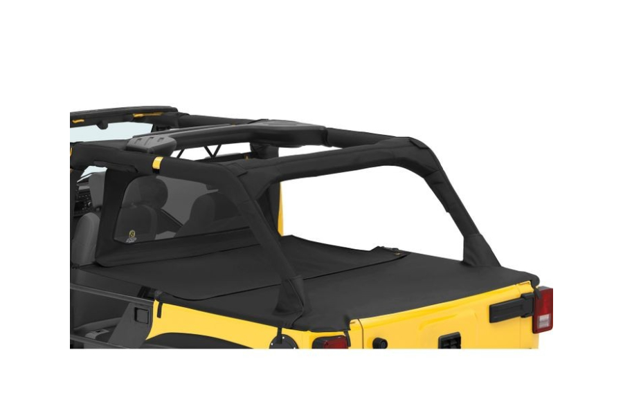 Bestop Duster Deck Cover Extension Black Diamond - JK 4Dr