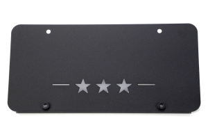 Maximus-3 Low Mount Licence Plate Frame Hawse (Part Number: HR1017LL)