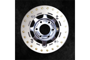Trail Ready Rock Ring Polished Wheel, 17x8.5 8x6.5  (Part Number: )