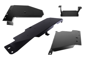 ROCK HARD 4x4 SKID PLATE AND EVAP SKID PACKAGE 2dr ( Part Number:ROCKHARD-SKIDS-EVAP-PKG-2DR)