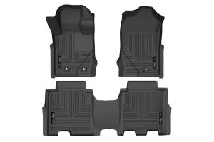 Husky Liner Weatherbeater Front and 2nd Seat Floor Liner Set - Ford Bronco 4Dr