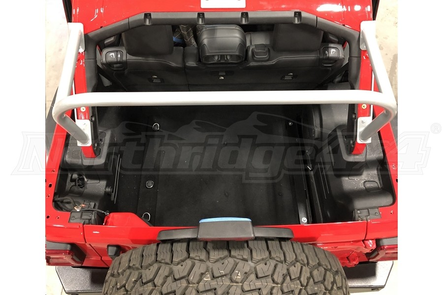 Rock Hard 4x4 3rd Row Accessory Mount Sport Cage  - JL 4Dr