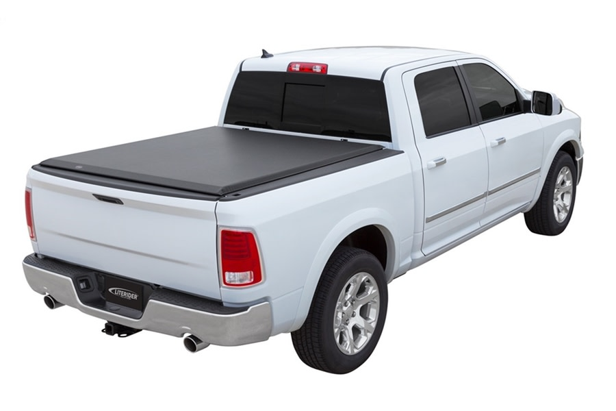 Access LiteRider Roll-Up Tonneau Cover - JT 5ft Bed w/ Trail Rail