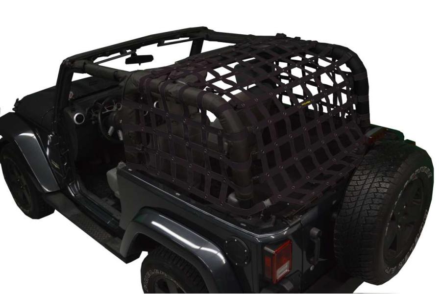 Dirty Dog 4x4 Rear Netting Black (Part Number:J2NN07RCBK)