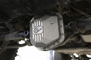 AFE Power Street Series Dana 30/Dana 44 Differential Covers - Raw - JK/LJ/TJ Non-Rubicon