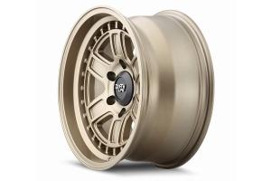 Dirty Life 9308 Cage Series Wheel, Matte Gold - 17x8.5 5x5 - JT/JL/JK