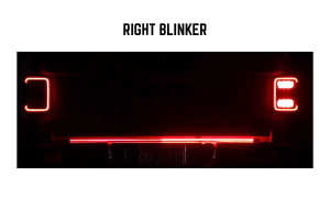 Putco 48in Blade LED Tailgate Light Bar w/ Harness Package - JT
