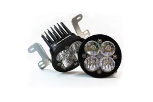 Baja Designs Squadron-R Pro Series, Fog Pocket LED Kit - JK