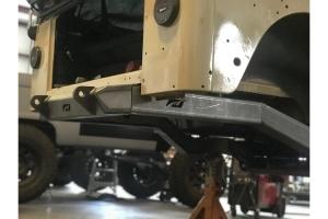 Motobilt Frame Back Half Kit - Bare Steel - TJ