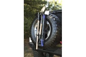Rugged Ridge Spare Tire Tool Rack System (Part Number: )