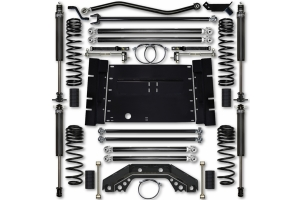 Rock Krawler 4.5in X-Factor Long Arm Lift System - Stage 1 - 03-06 TJ