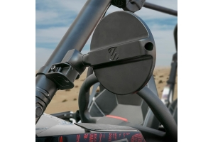 Scosche BaseClamp 5in Round Side View Mirrors