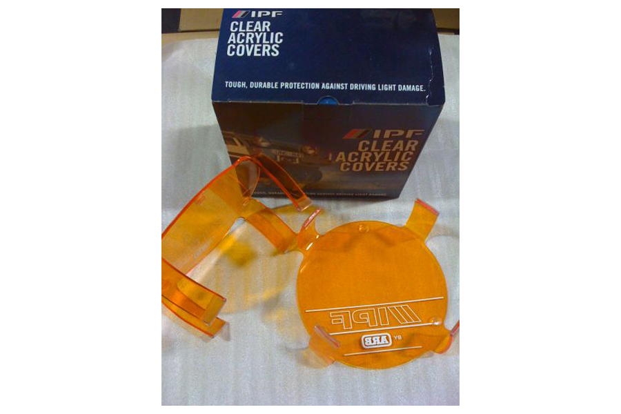 ARB IPF 900XS Light Acrylic Amber Lens Cover