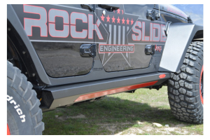 Rock-Slide Engineering Gen II Step Sliders - JL 4dr