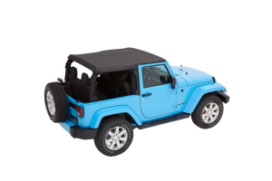 Bestop Trektop NX Plus Soft Top Black Diamond - JK 2dr