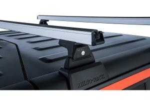 Rhino Rack Heavy Duty Silver 2 Bar Roof Rack w/ Backbone and RLT600 Legs   - JT
