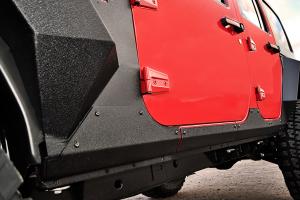Rugged Ridge Steel Body Armor Cladding - JK 4DR