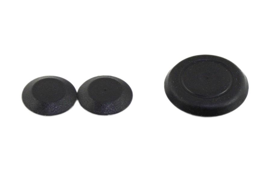 Kentrol Tailgate Plug Kit - Powdercoat Black  - JK