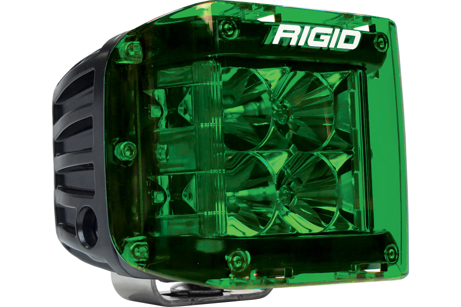 Rigid Industries D-SS Series Cover, Green (Part Number:32187)