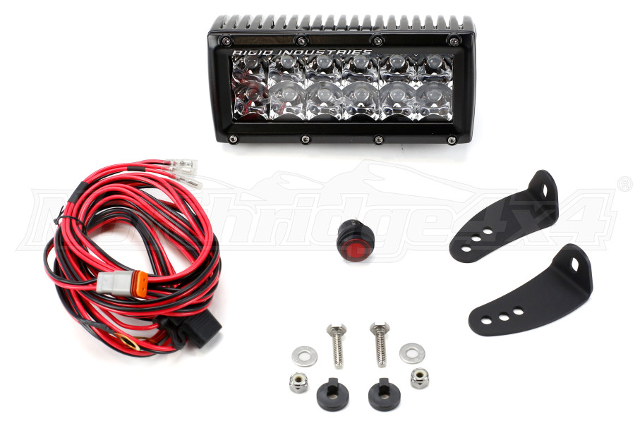 Rigid Industries E-Series Light Bar Spot 6in (Part Number:106213)