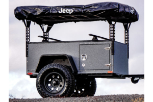 Freespirit Recreation Adventure Series 49in Roof Top Tent Trailer Towers, Black  (Part Number: )