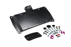 JKS Rear License Plate Relocation Kit w/Light ( Part Number: 8210)