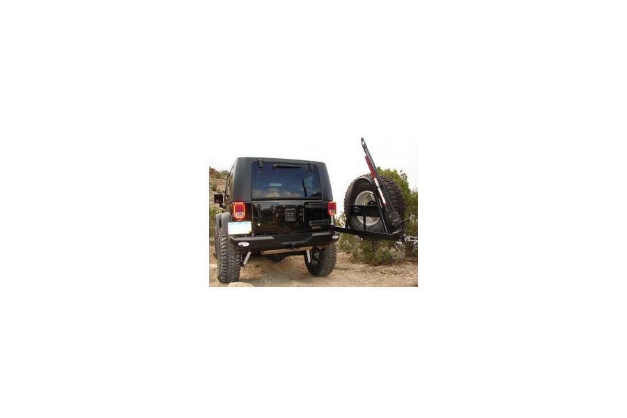 M.O.R.E. Rock Proof Rear Bumper w/Tire Carrier (Part Number:JRB800)