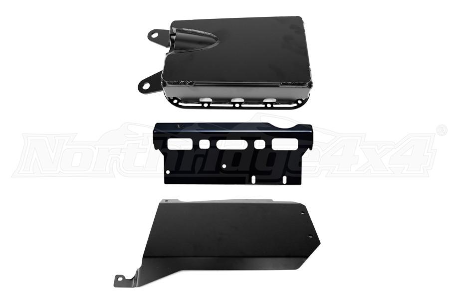 EVO Manufacturing Protek Skid System Manual Transmission for Long Arms JK 2012+ (Part Number:212LA)
