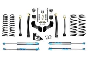 Evo Manufacturing HD 4.5in Enforcer Overland Stage 3 Lift Kit w/ King 2.0 Shocks - JL