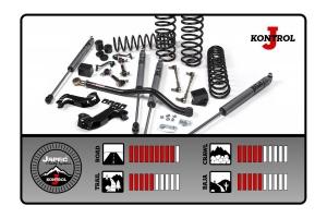 JKS J-Kontrol 2.5in Suspension System - JL 4dr